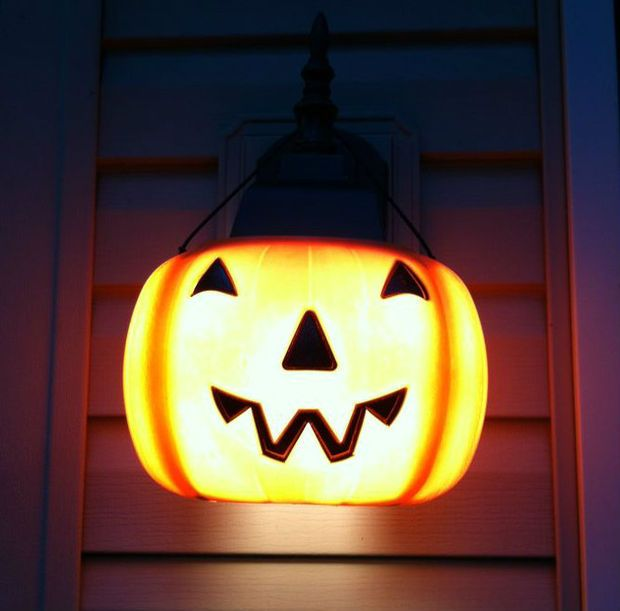 Pumpkin Porch Light Covers Porch Light Covers Porch Pumpkins Halloween Porch Lights