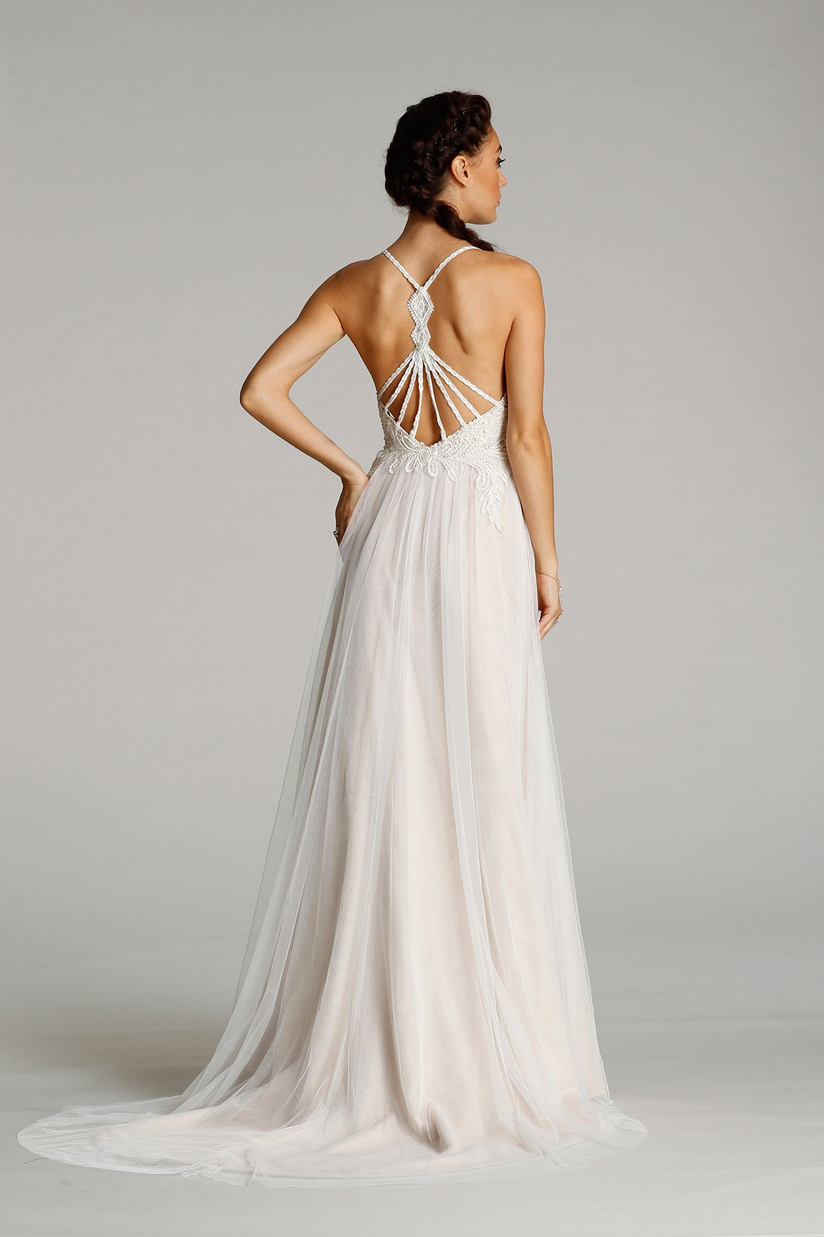 Style back view heart aflutter bridal pinterest bridal gowns