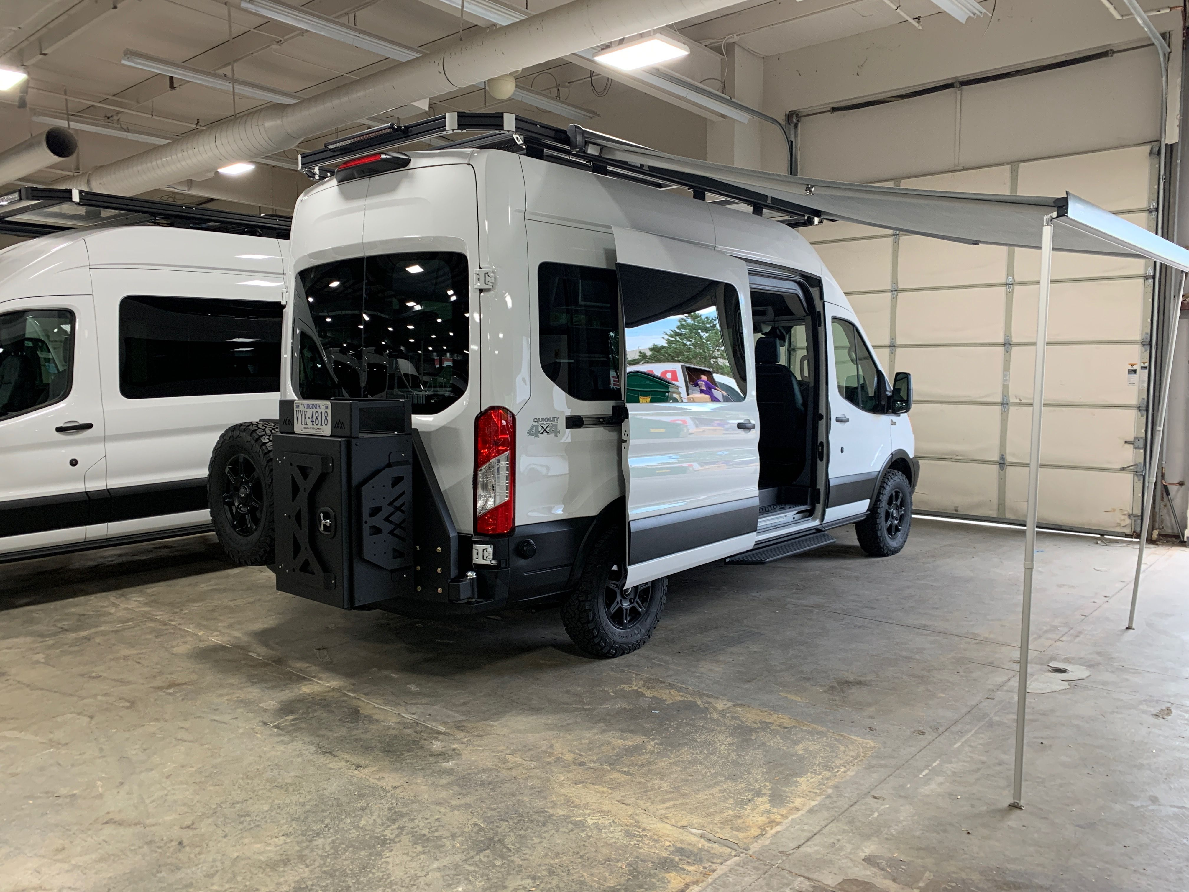 Vandoit Camper Van With Backwoods Bumper And Thule Awning In 2020