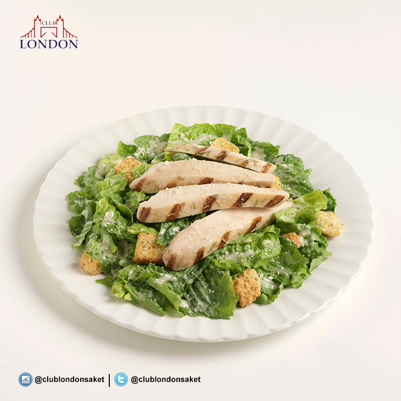 WTF - Where's the Food ? At Club London Saket, it is the Grilled Chicken Caesar Salad ! A Classic Caesar Salad is a must try!  #Food #Foodporn #foodgram #foodie #italian #Salad #Foodstagram #Healthy #Delhi   http://clublondon.in/food-menu/44
