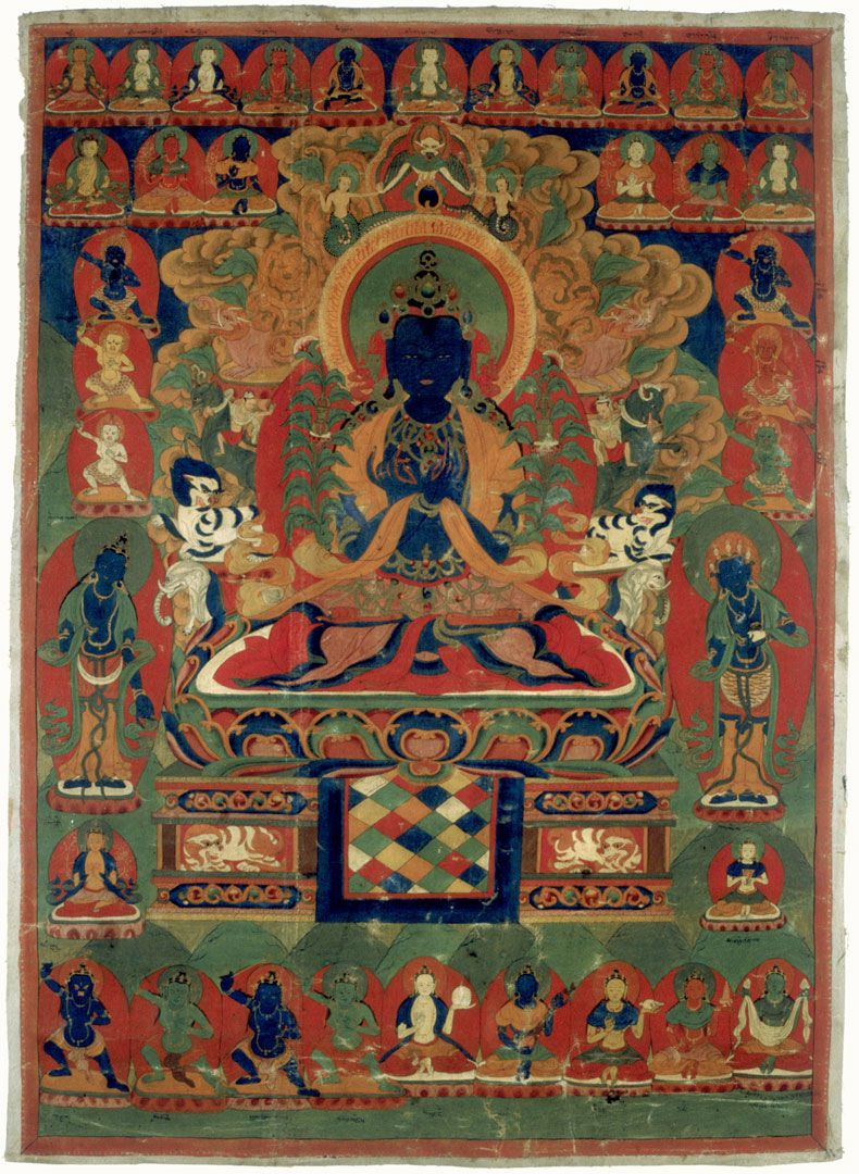 Vajradhara (from Huntington Archives)