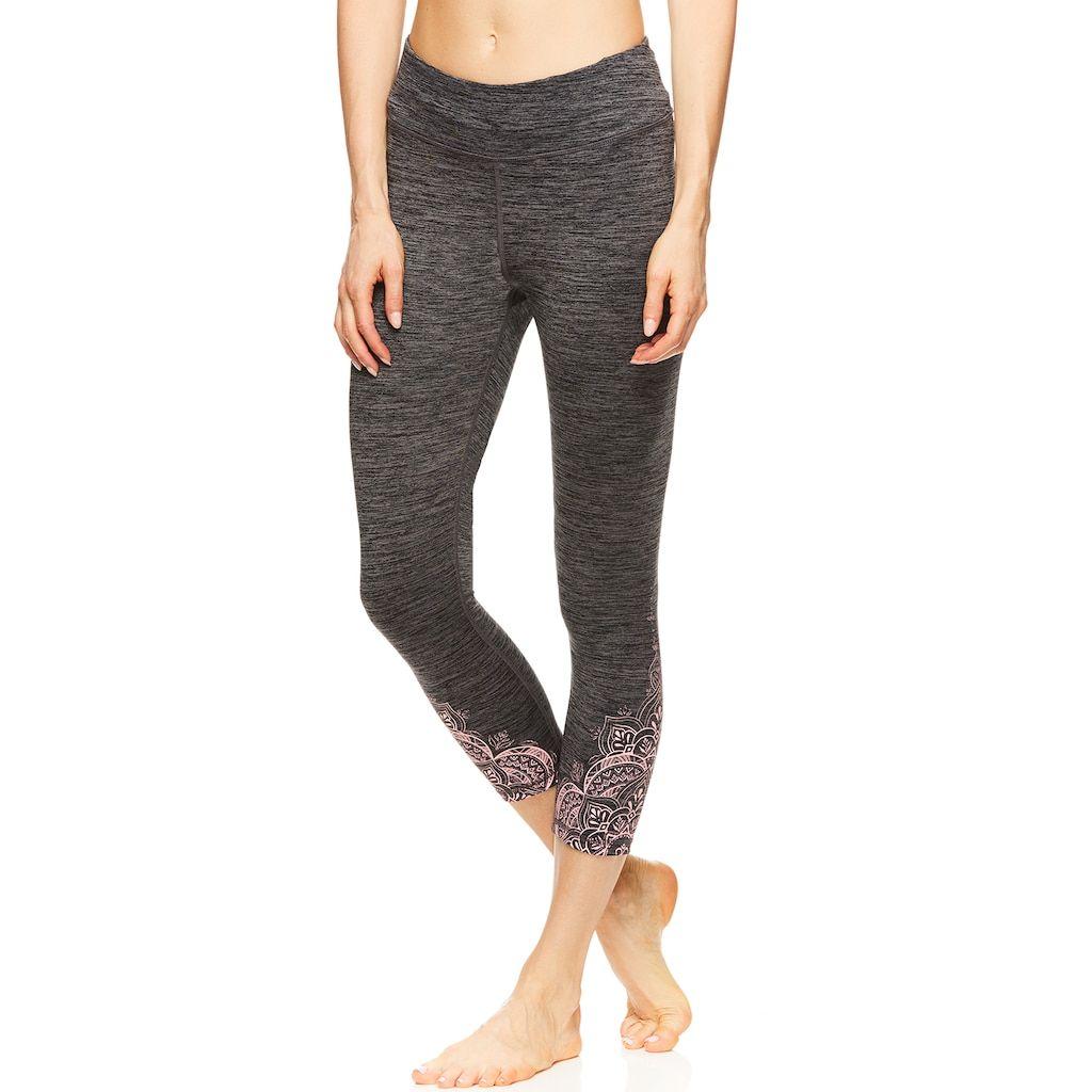 7f15842fb3bbb Women's Gaiam Prism Graphic Yoga Capri Leggings in 2019   Products ...
