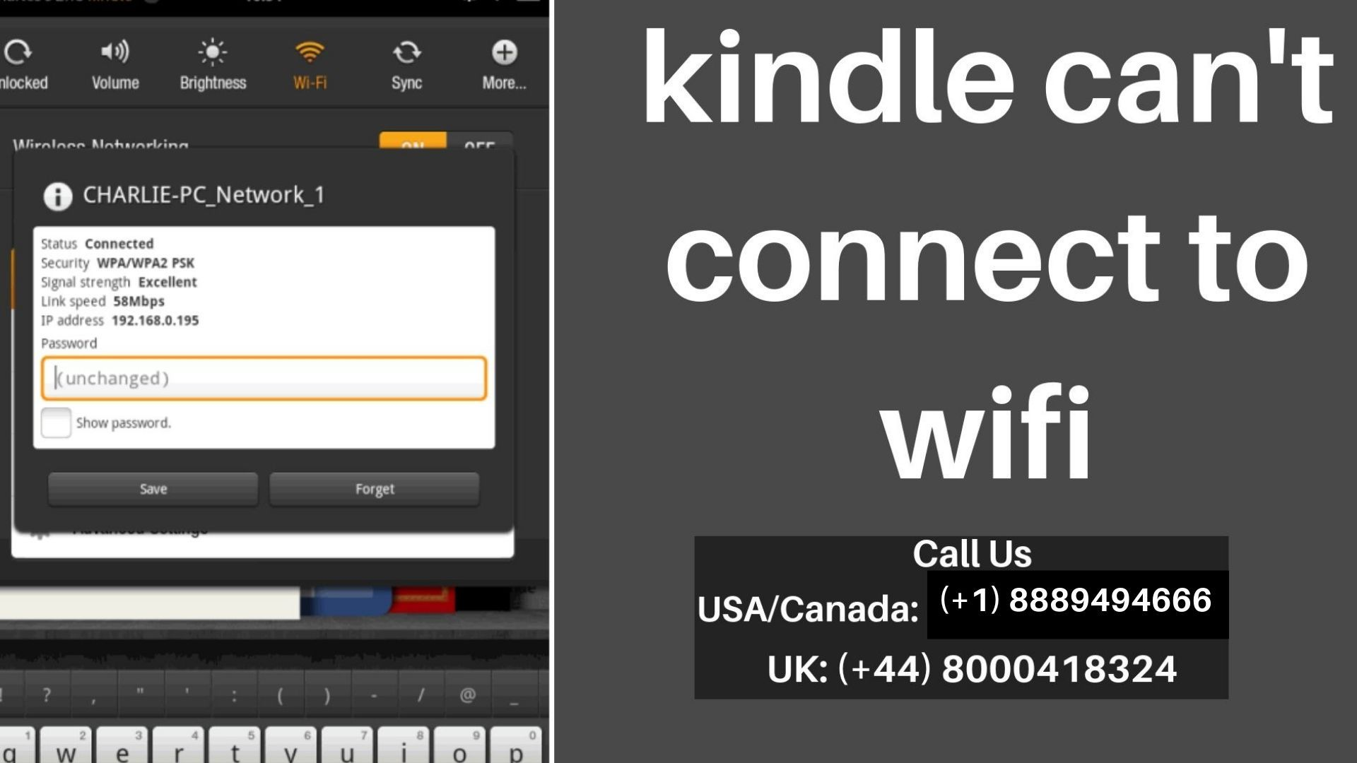 Resolve Kindle Won T Connect To Wifi Issue Instantly Call 1 888 949 4666 Kindle Wifi Connection