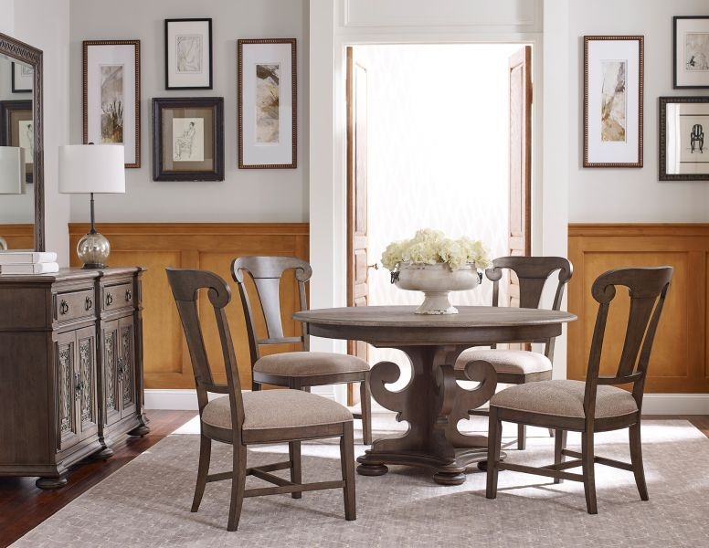 Greyson Grant Round Dining Set W Fulton Chairs Round Dining Room Sets Round Dining Room Kincaid Furniture