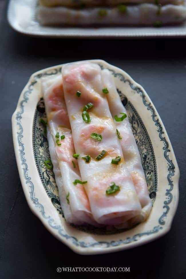 how to cook cheung fun