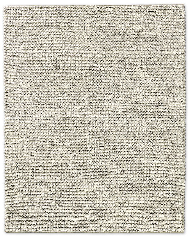 Rh Chunky Textured Rug Not Sure If This Is Too Thick Braided Wool Rug Rugs Wool Rug