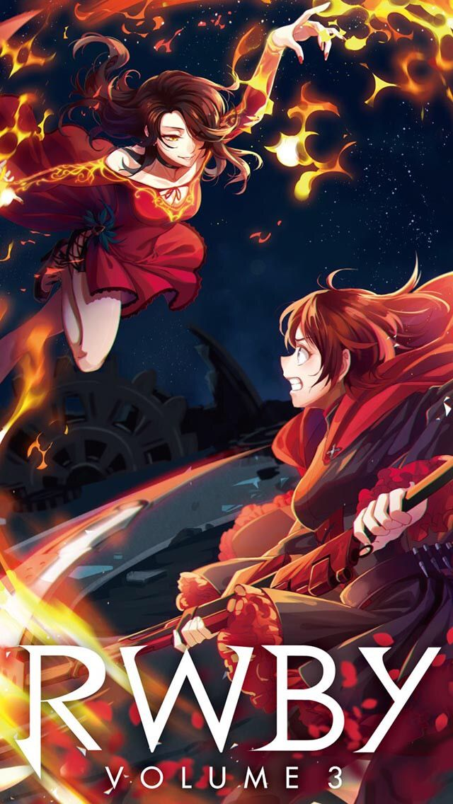 Cinder Fall and Ruby RoseRWBY Rwby anime, Rwby, Rwby