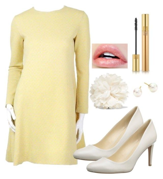 Outfit #1395 by ivanna1920 on Polyvore featuring polyvore fashion style Nine West Gucci Majorica Yves Saint Laurent clothing