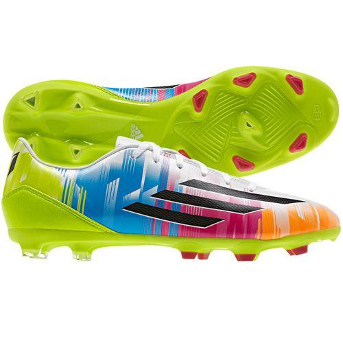 adidas F10FG Botas de Fútbol, Hombre, Orange - White - Black