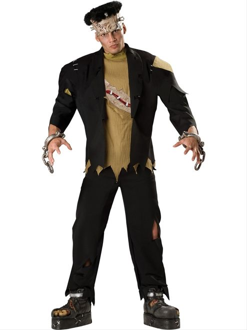 c46727d3a84 Men s Deluxe Frankenstein Monster Costume - It s alive! Electrify your  Halloween to life with this stunning Frankenstein style monster costume.