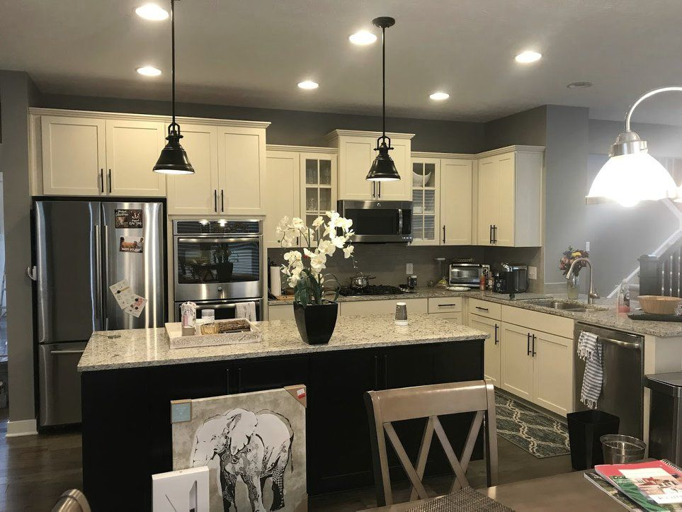 Kitchen cabinet painting completed in Indianapolis, IN ...
