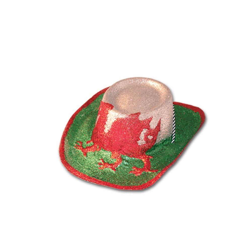 cf25c2f01d0 Welsh Glitter Hat