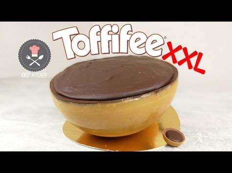 XXL Giant Toffifee - How to make a Toffifee