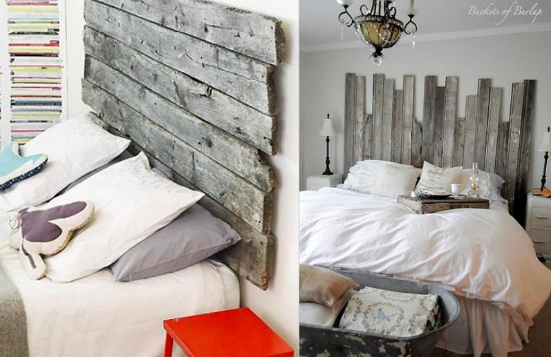 Cabecero con listones de madera | deco habitacion infantil ...