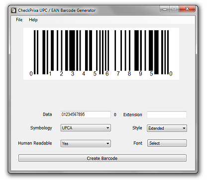 Checkprixa Upc Barcode Generator Lets You Add Retail Barcodes To Your Products After Obtaining The Upc Create Barcode Barcode Generator Universal Product Code