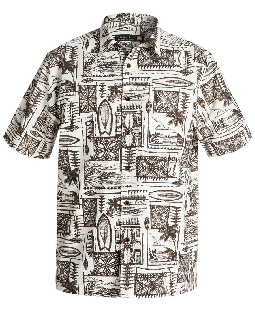 muy baratas varios colores Reino Unido Quiksilver Waterman Short-Sleeve Kalae Shirt | Waterman en 2019