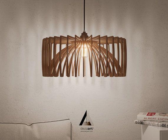 8 Prodigious Unique Ideas Lamp Shades Repurpose Lamp: Wood Pendant Light Chandelier Modern Lamp Ceiling Lighting