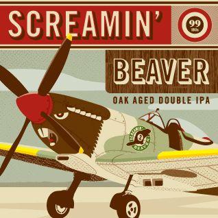 Beau's Screaming Beaver - Oak Aged Double IPA. | Double ...