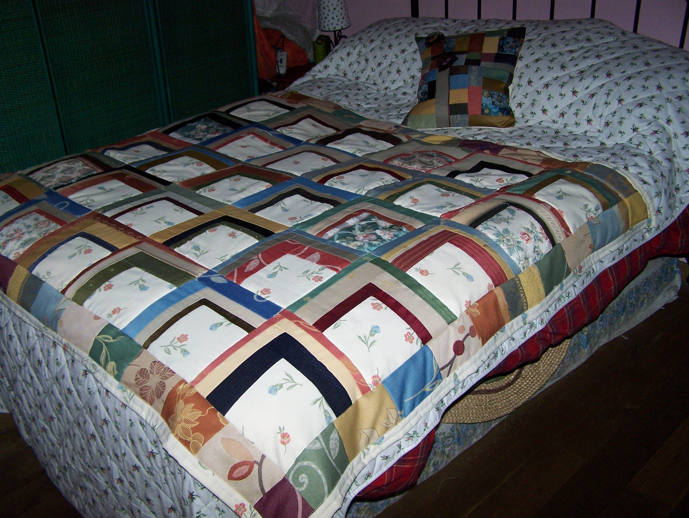 Colcha de retazos de telas para tapizar patchworksasa - Tela para colchas ...
