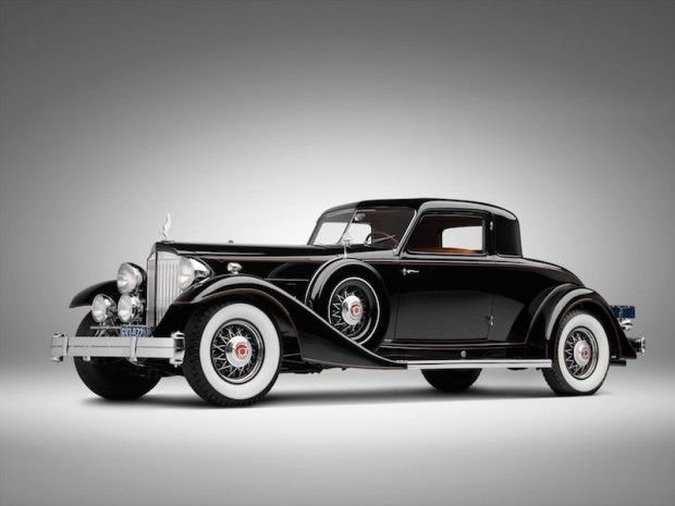 1933 Packard 1006 Twelve Coupe 2/4  Body by Dietrich.  My Mom's first car was a Packard...probably close to this vintage.