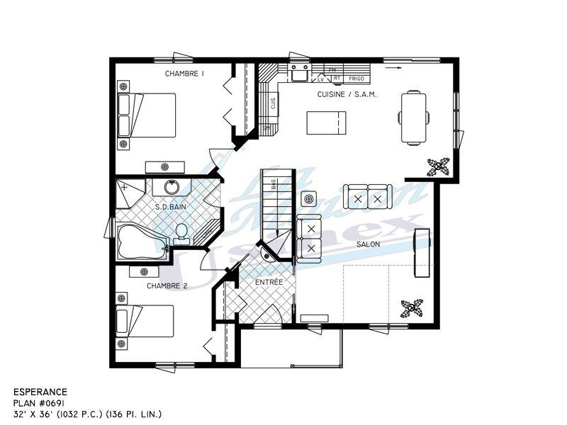 plan de maison usinex
