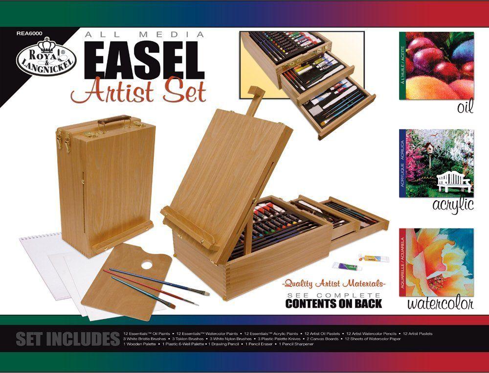 Royal /& Langnickel All Media Easel Artist Set 104 Piece