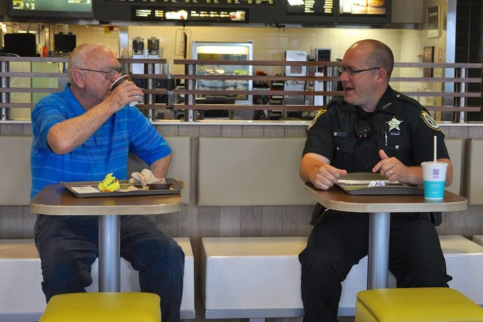 Thank you to everyone who came out and participated in Coffee with a Cop this past Saturday! We enjoyed meeting all of you. Here are some pictures from both the Sanford and Oviedo McDonald's locations. Our deputies always enjoy meeting members of the community!
