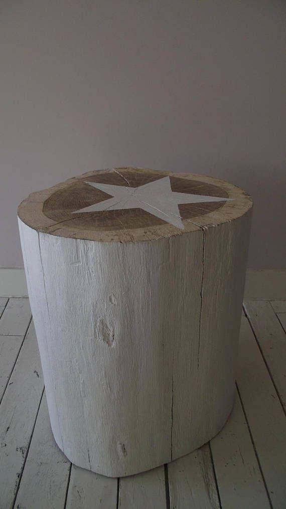 table b che 27x34 cm brute en bois massif chevet tabouret diy id es cr atives pinterest. Black Bedroom Furniture Sets. Home Design Ideas