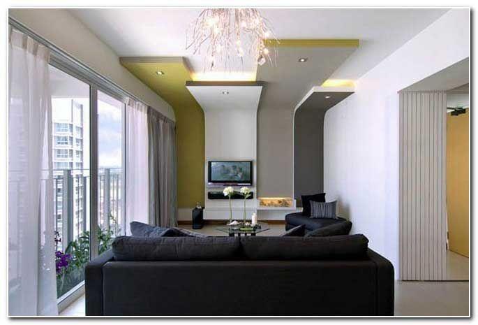 bilder kleines wohnzimmer einrichten gro e fenster hohe decke bungalow haus bauen pinterest. Black Bedroom Furniture Sets. Home Design Ideas