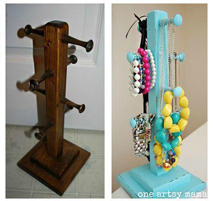 accesorios-perchero-de-madera | Ideas | Pinterest | Organizadores ...