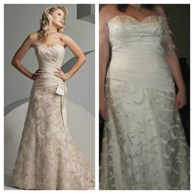 In Wedding and Prom Dresses Fails