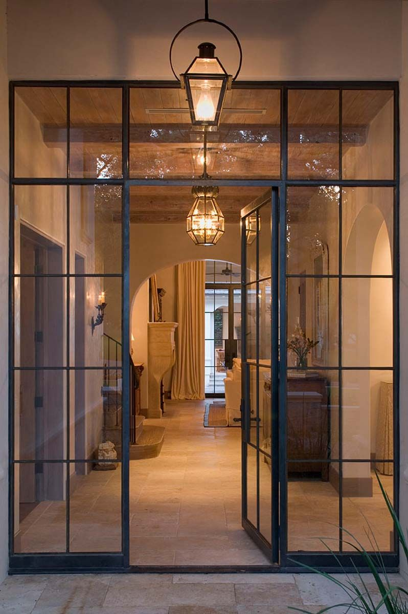 Photo of Single Doors (Side Lite & Transom) – Rehme Steel Windows & Doors