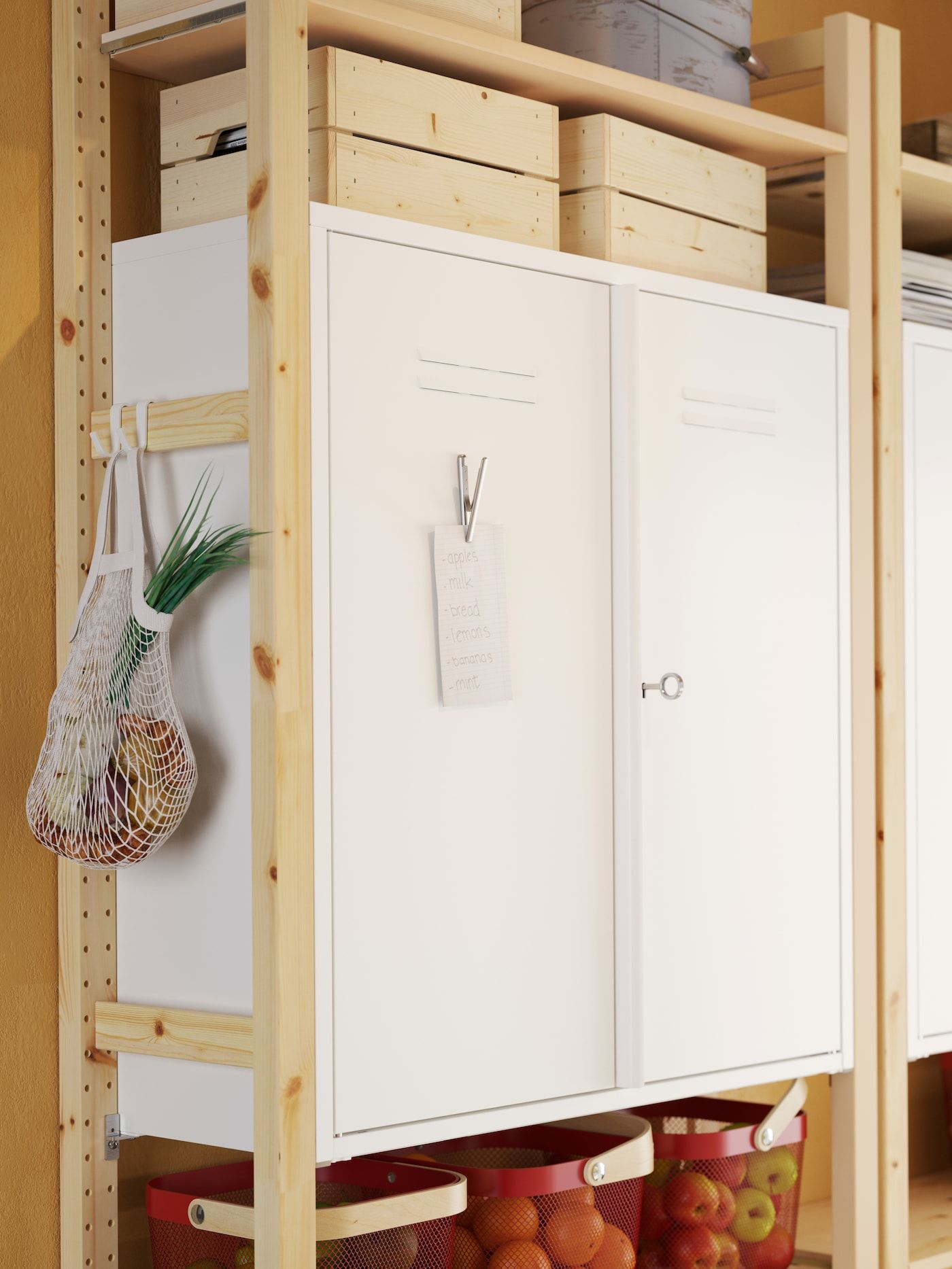 A Multi Tasking Kitchen Helper Ikea Ikea Ivar Ikea Shelf Unit