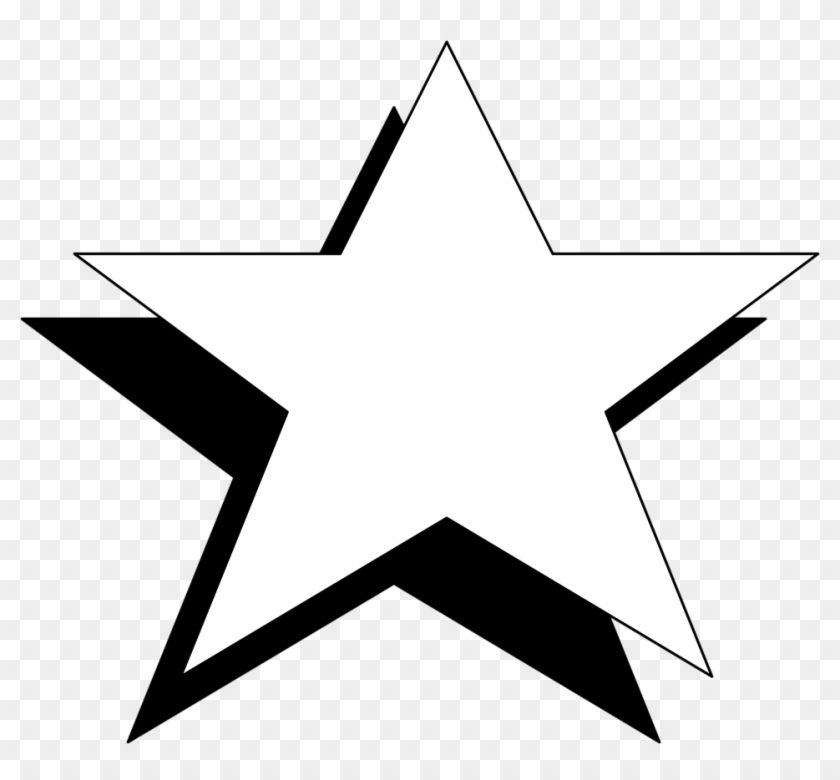 Pin By Moon Light On Diy Kawaii Star Clipart White Image Clipart Black And White