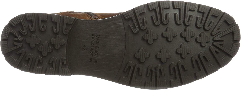 7401f1948fa JACK & JONES Jfwmarly Leather Cognac, Botas Clasicas para Hombre, Marrón,  46