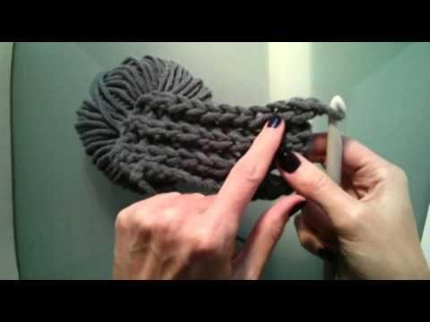 Gestrickt? Nein, gehäkelt! Easy Loop Schal / Simple Infinity Scarf ...