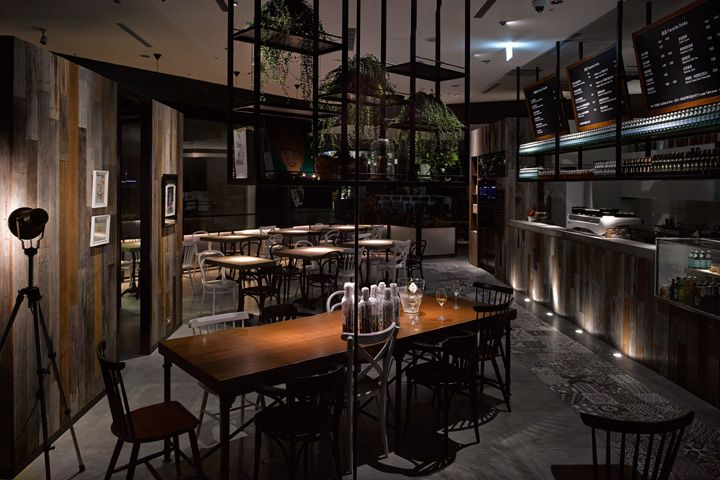 Cafe-Showroom-by-MW-Design-Taipei-Taiwan   concept store.   Pinterest