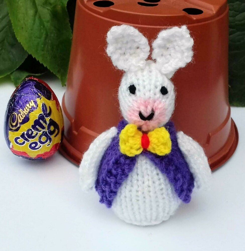 Easter Bunny - Chocolate Creme Egg Cosy Knitting pattern ...