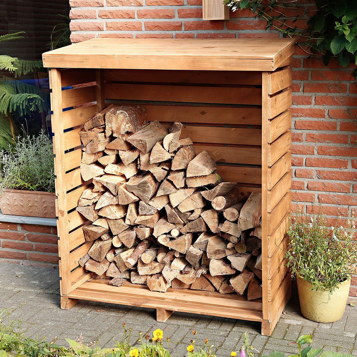 Holzlager Kaminholzregal Holzlager Holz