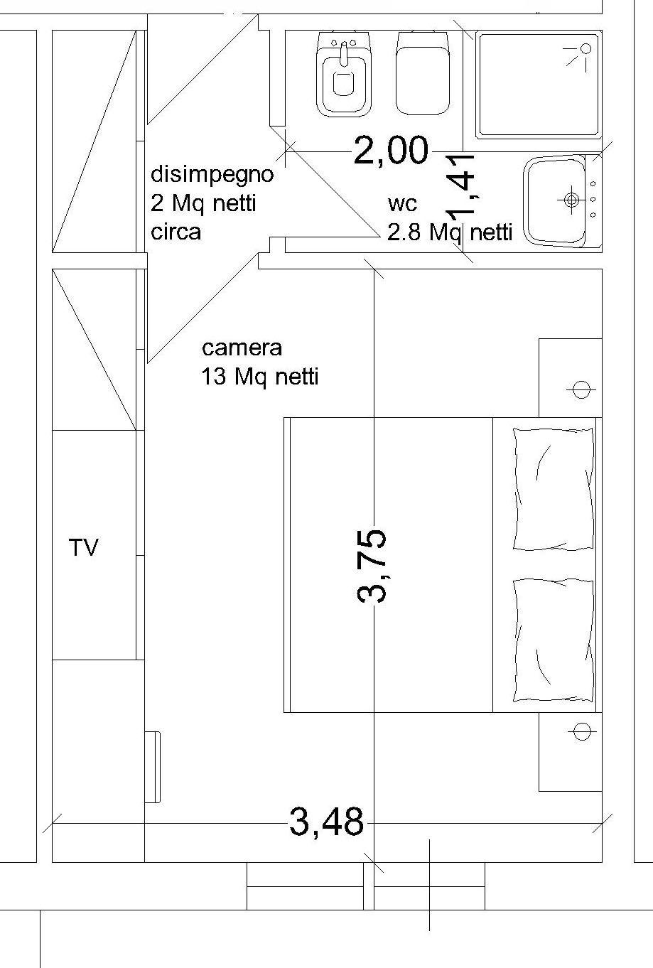 Progetto Bagno 3 Mq realizzare secondo bagno nel corridoio nel 2020 | camera da