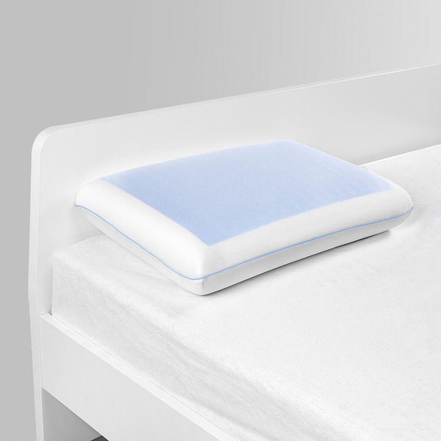 وسادة مارينا فوم جل أبيض Memory Foam Pillows Foam