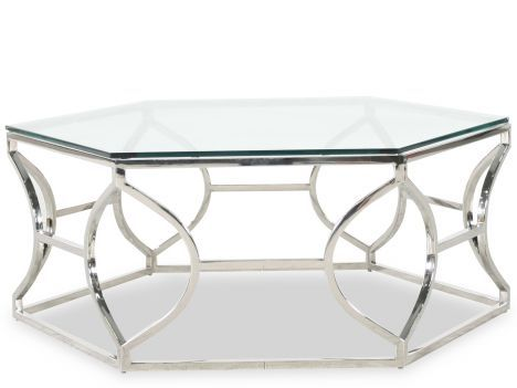 BHT 326/021   Bernhardt Interiors Argent Metal Cocktail Table | Mathis  Brothers Furniture