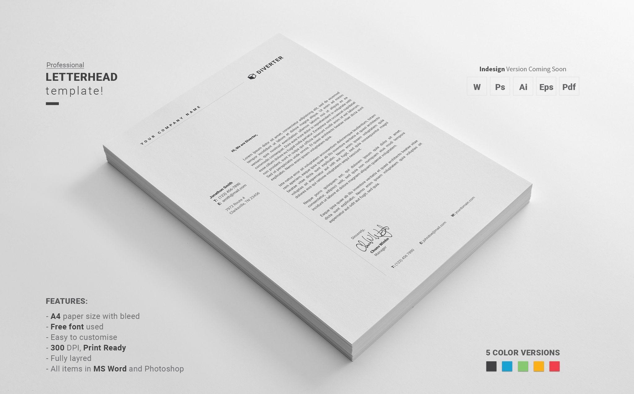 letterhead bundle, bundle cook resume description teacher format word work experience examples for cv
