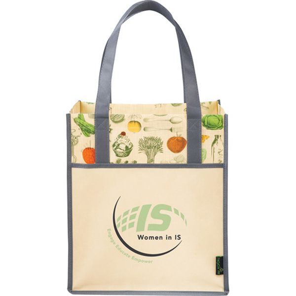 Organic Veggies And Antique Kitchen Utensils Take Center Stage In This Vintage Print Tote Bag This Tote Featur Grocery Tote Bag Grocery Tote Printed Tote Bags
