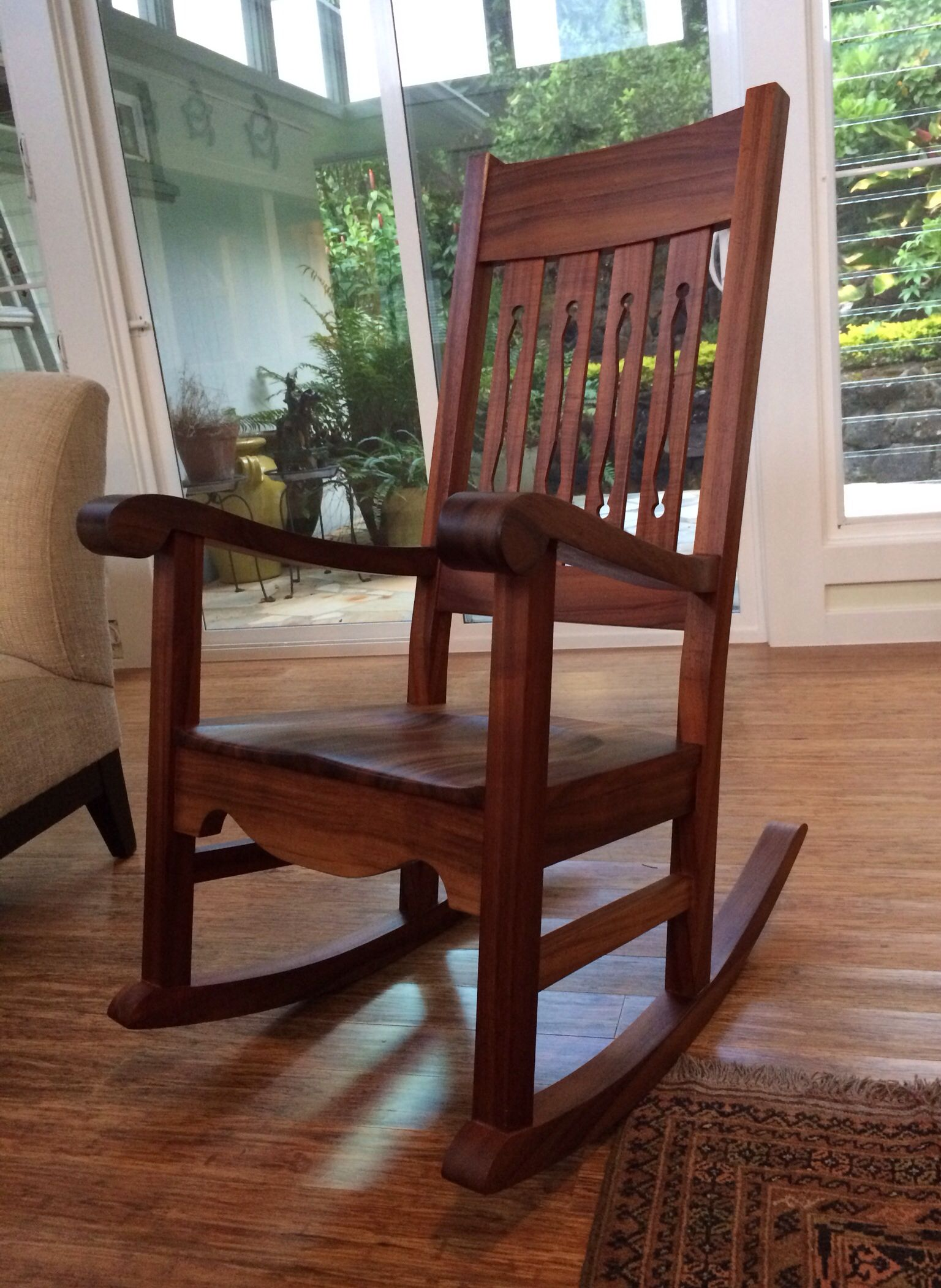 Martin Amp Macarthur Koa Rocking Chair Www