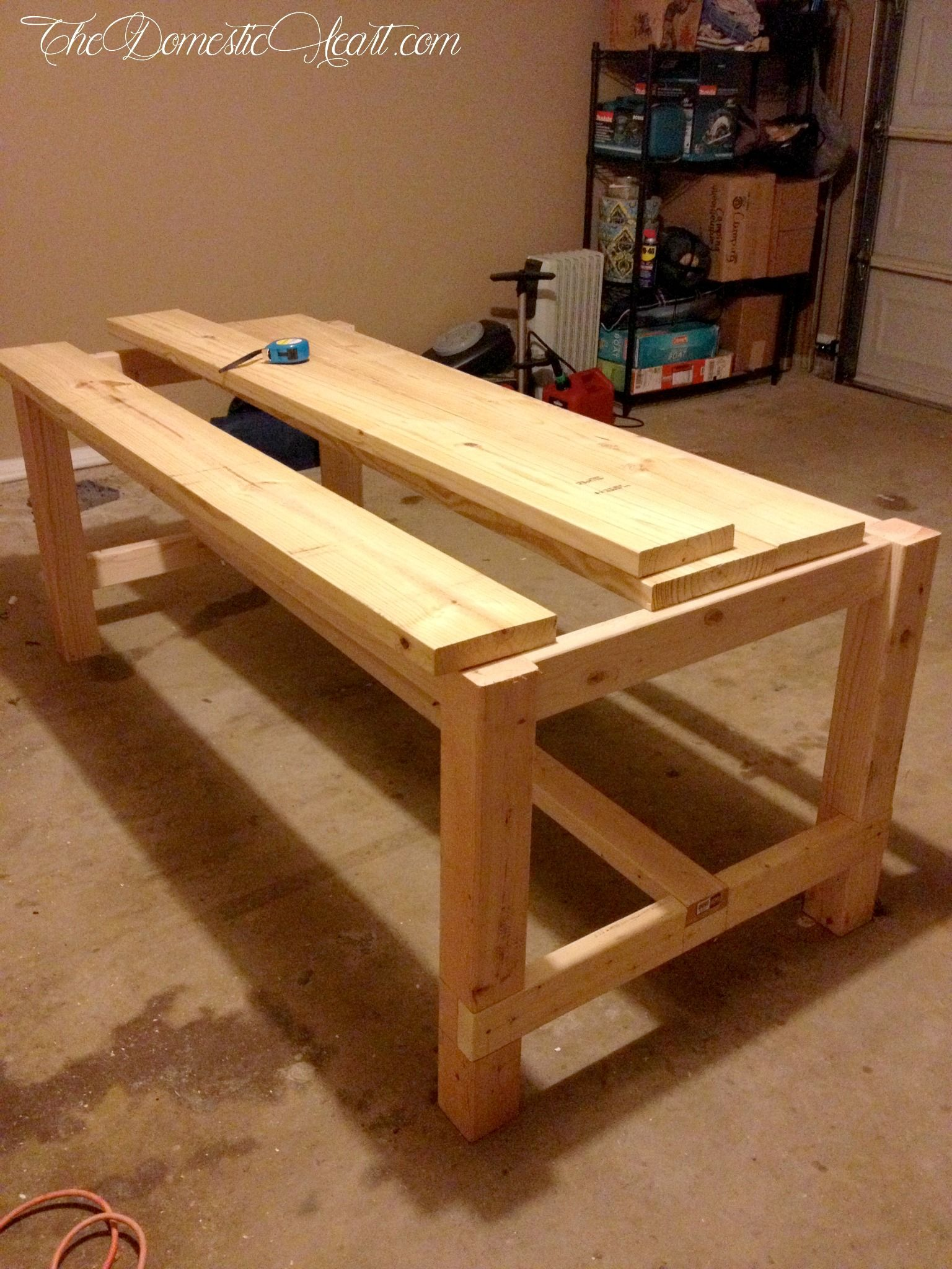 how to made table
