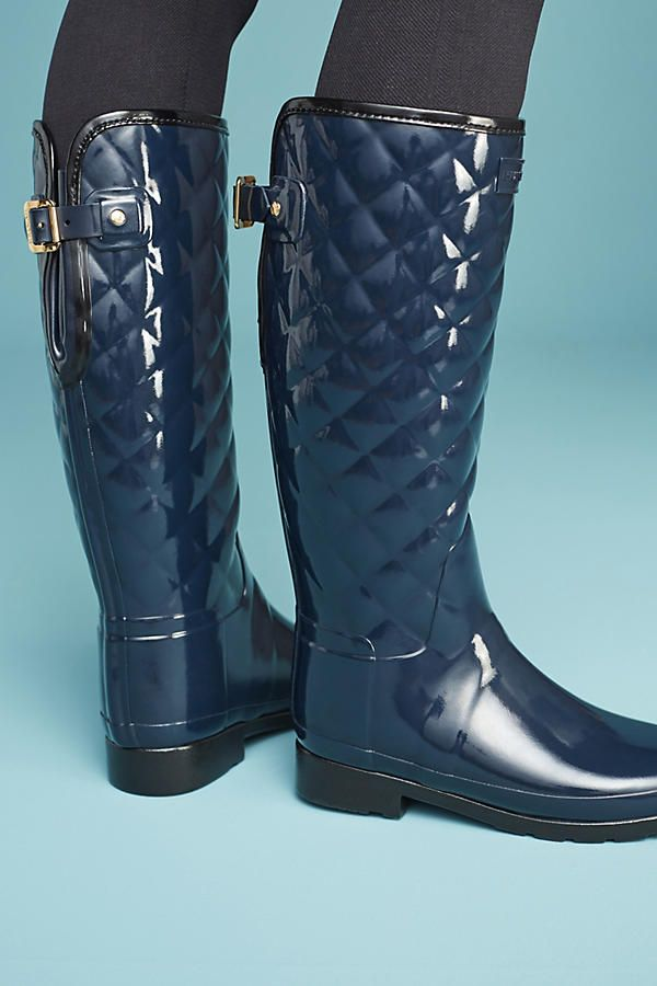 Hunter Quilted Rain Boots | Rain boot and Rain : quilted rainboots - Adamdwight.com