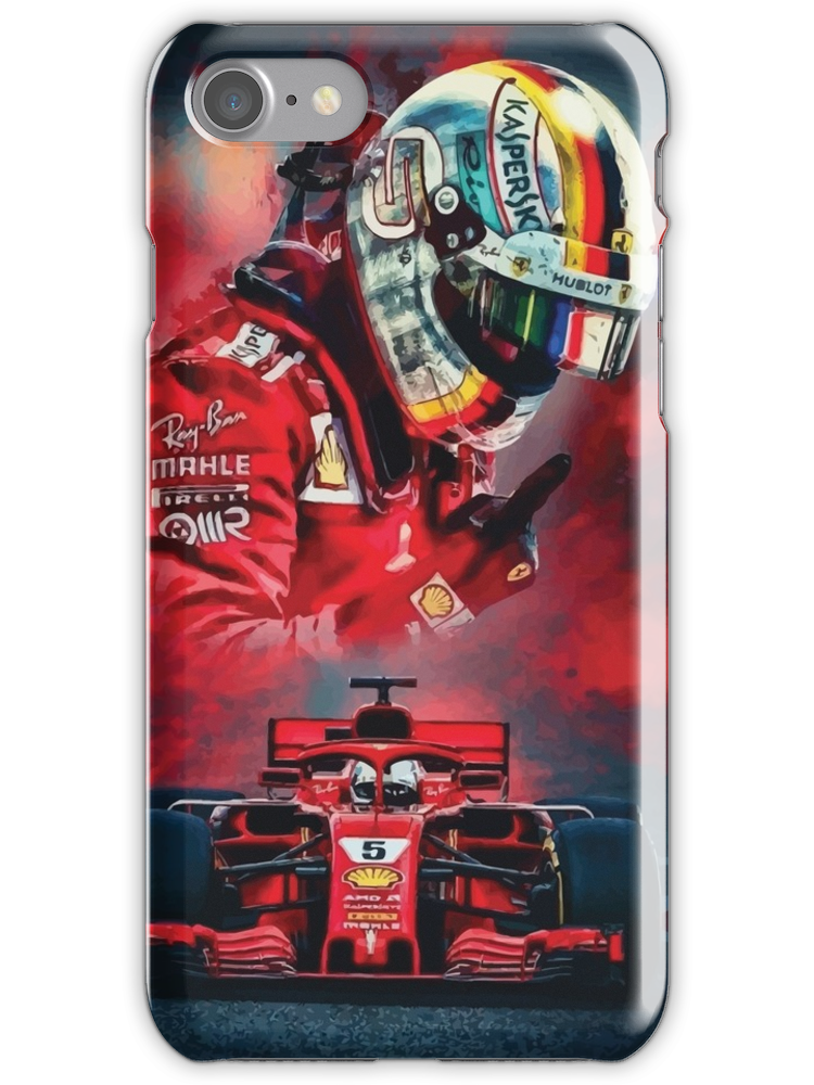 Vettel F1 2019 Scuderia Iphone 7 Snap Case Iphone Hard Case Iphone Case Covers Iphone Cases