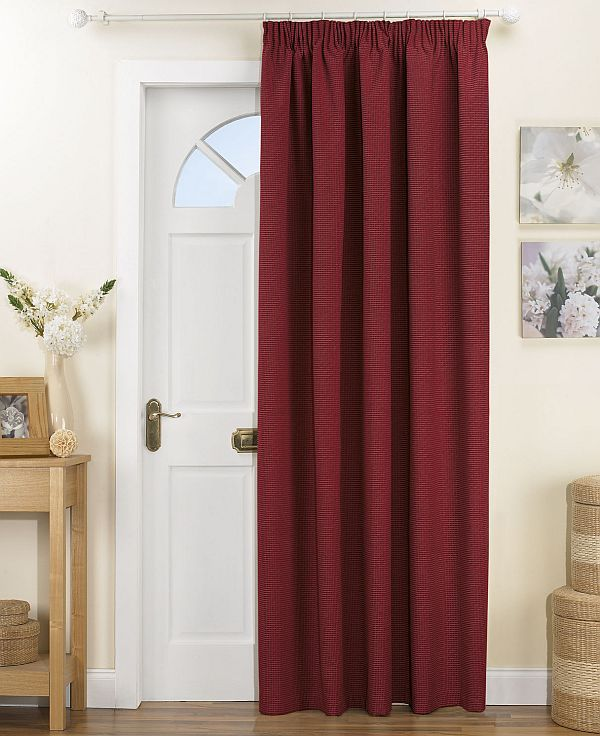 To Separate E And Add Color White Office Curtain Hides Closet