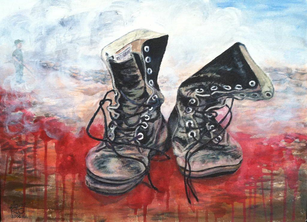 Elaine Griffith Retiring Memories Acrylic Peinture